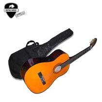 Guitarra Clasica Criolla Greenland Lc14 + Funda + Afinador