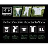 Camisolin Descartable Pantalón Cubrebotas Barbijo Kit = $ 47