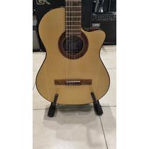 Guitarra Fonseca Kec 40 Con Mic. Y Ecualizador