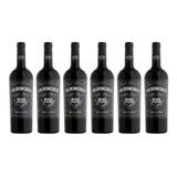 Vino Los Intocables Black Malbec Tinto Caja X6 Pack 750ml