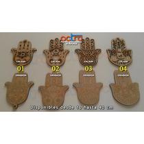 Figuras Manos De Fatima 10 Cm X 10 Unidades