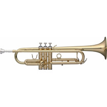Trompeta Bb Sib Si Bemol Stagg Wstr115 Completa Con Estuche