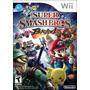 Super Smash Bros Brawl Wii Nuevo Fisico Sellado Gamebox