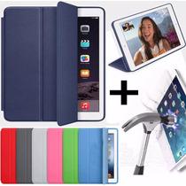 Funda Ipad Air 1 Apple Smart Case Original + Vidrio Templado
