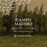 Emprendimiento Lote Terreno - Campo Madero - Barrio Abierto  Residencial