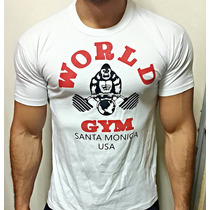 Remeras Hombre 100% Algodon Premiun Unicas! World Gym