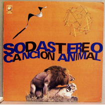 Lp - Soda Stereo (cerati) - Cancion Animal - Envio Gratis