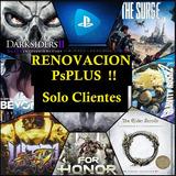 Codigos Ps4 - Cta Psplus Online  Renovacion