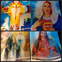 75 Imagenes Religiosas 3d. El Lote De Oferta Navidad $ 1200