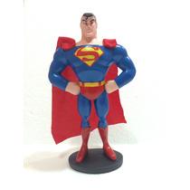 Muñeco De Superman, Artesanía En Resina Aprox. 20cm De Alto