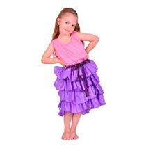 Disfraz Violetta Lila Original New Toys Talle 3 Env S/c Caba