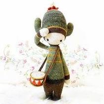 Patrón Lalylala Cactus - Amigurumi - Crochet - En Español