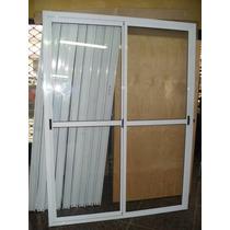 Puerta Ventana Balcon 180x200 De Aluminio Vidrio Entero