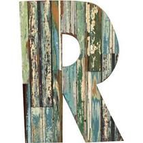Letras Numeros Figuras Palabras Frases En Madera Reciclada