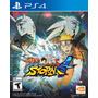 Naruto Shippuden Ultimate Ninja Storm 4 Ps4 Formato Físico