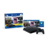 Consola Ps4 Slim 1tb + Days Gone + Detroit + Rainbow Six Sie