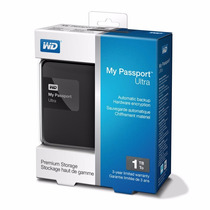 Tricubo - Western Digital My Passport Ultra 1tb Usb 3.0