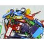 Llaveros Identificadores X 100 Unidades Plasticos Tarjeteros