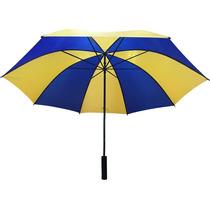 Paraguas Azul Y Amarillo Gigante Boca Atlanta Rosario Ctral