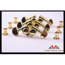 Clavijas Grover Gold 3 + 3 Riñon Gibson Original Usa