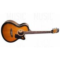 Oferta! Guitarra Electro Acústica Lyon By Washburn - La245e