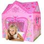 Carpa Casa Casita Castillo Niñas Nena Rosa Techo A 4 Aguas