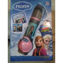 Microfono Infantil De Mano Princesa Frozen