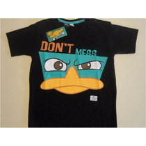 Remera Phineas & Ferb (perry) Oficial Talle 6