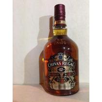 Whisky Chivas Regal 12 Años 1l -con Estuche- Oportunidad!!!