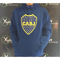 Buzo Canguro Boca Juniors