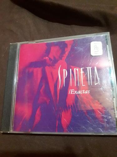 Cd Spinetta Exactas En Vivo 1990