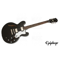 Guit Eléc Epiphone By Gibson 335 Dot Black Royale + Estuche