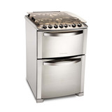 Cocina Electrolux 56dtx  Horno Doble Multigas 56cm 8326