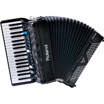 V-accord-piano Keys W/speakers Negro Roland Fr3x Bk