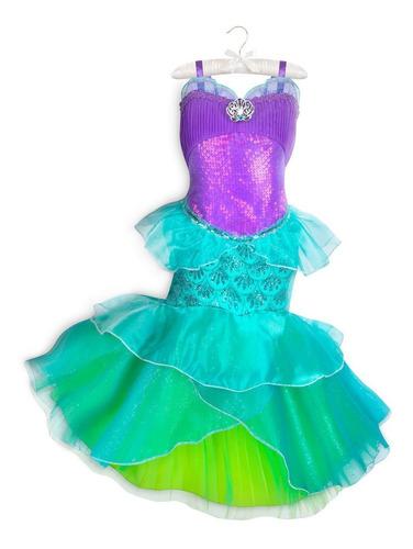 Disfraz Vestido Ariel La Sirenita Disney Store Original En