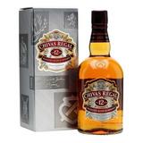 Whisky Chivas Regal 12 Años Botella 1 Litro En Estuche