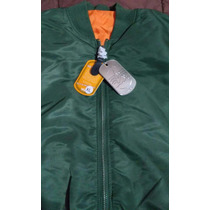 Campera De Vuelo Verde Alpha Industries