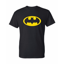 Batman Remera Estampada Con Vinilo
