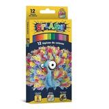 Lapices De Colores Splash X12 Colores De Faber Castell