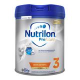 Leche De Fórmula En Polvo Nutricia Bagó Nutrilon Profutura 3 Por 4 Unidades De 800g