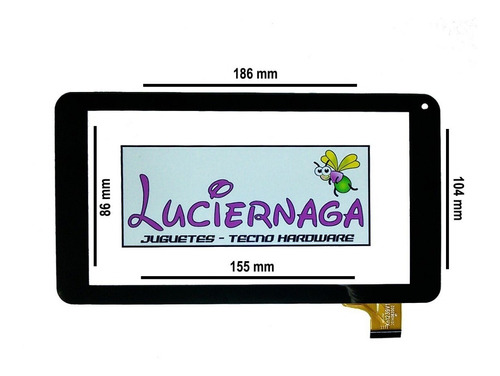 Tactil Touch Tablet Kanji Alfa 7 PuLG