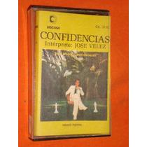 Jose Velez * Confidencias * Discosa * Cassette
