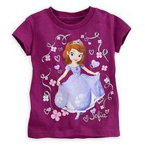 Remera Disney Store Sofia Princesa Talle 5/6
