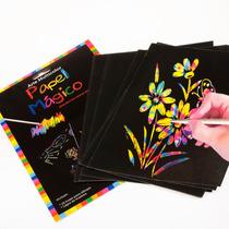 Papel Mágico 10 Diseños Dibuja Y Descubre Colores Morph
