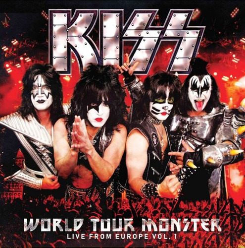 Vinilo Kiss World Tour Monster Vol.1 Lp Nuevo Original