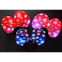 12 Vinchas Minnie Luminosa Lunares