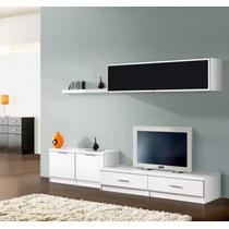 Modular Wengue,vajillero,mesa Tv,rack Lcd