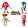 Muñecos Peluches Sonic Sega 100% Original Amy Knuckles Tails