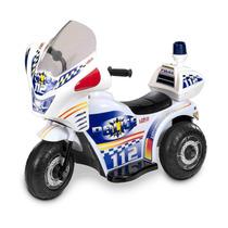 Triciclo Eléctrico Policía Loko Toys 99306-p