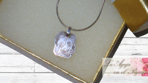 8ef2e59cddfb Dije Miniatura Con Cadena Plata 925 Sagrada Familia Navidad en venta ...